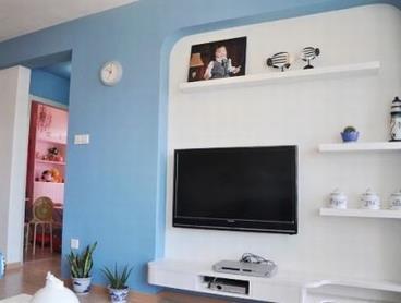 DIY省钱打造 140平简易地中海4居室