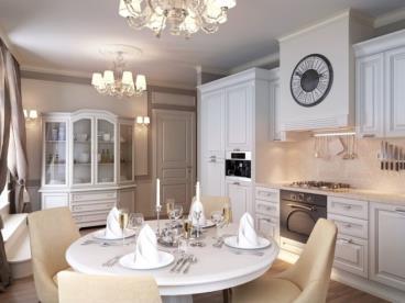 浪漫的茜茜公主 古典欧式四居室