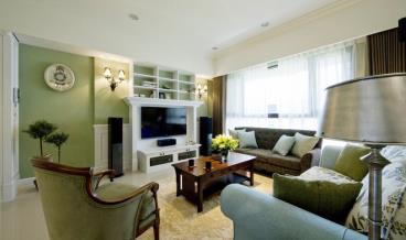温馨且清新 美式公寓