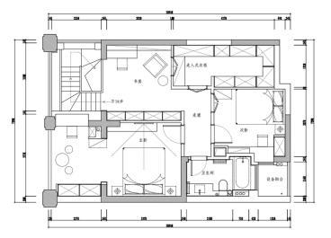 天山花园-现代简约-四居室-装修案例