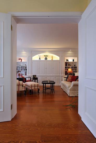 时尚亮丽 温馨美式风格四居室