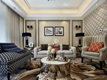 四室两厅欧式家 豪华且清新