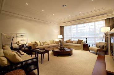 康桥水郡-现代简约-四居室-装修案例
