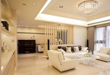 四居室清新奢华减压设计装修效果图