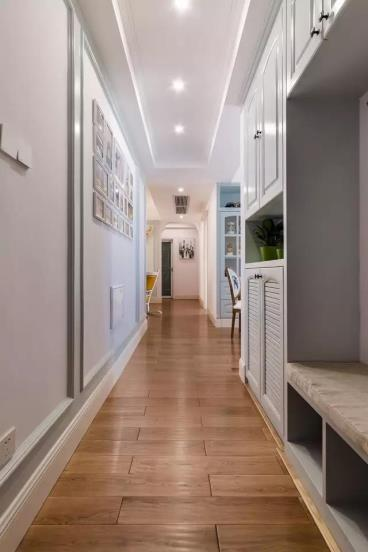 106㎡现代美式两居室