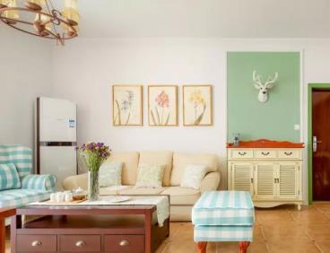 89㎡美式风格两居室