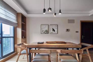 135平米日式风格三居室