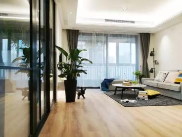 118㎡现代风格三居室