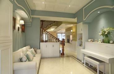 124㎡美式风格三居室