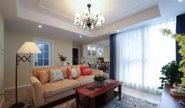 76㎡美式风格两居室