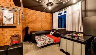 50㎡工业风个性单身公寓