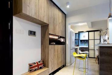 111㎡美式风格两居室