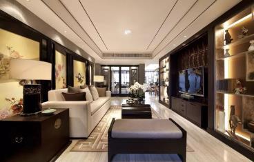 200㎡现代中式三居室