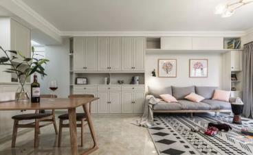 96㎡北欧风格三居室