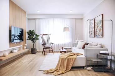 105㎡北欧风格两居室