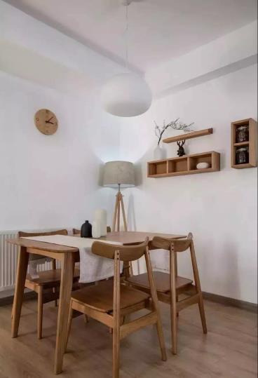 80㎡北欧风格紧凑房