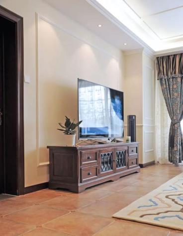 160㎡美式风格三居室