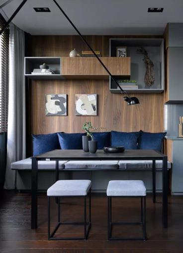 108㎡现代风格两居室