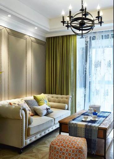 100㎡美式风格三居室