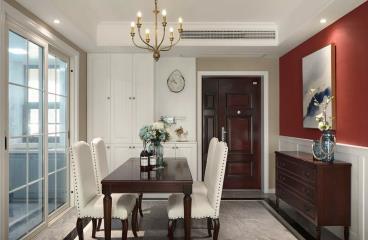 103㎡现代美式三居室