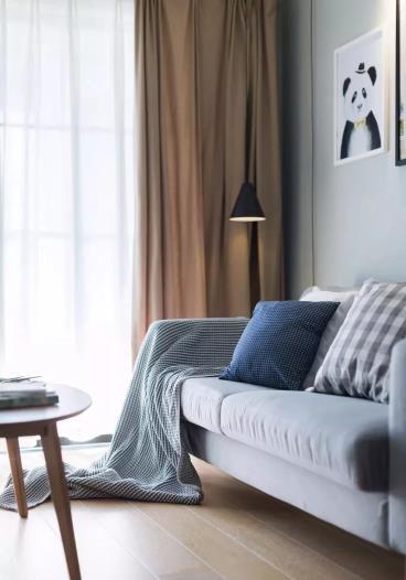 90㎡北欧风格两居室