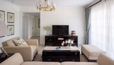 130㎡美式风格三居室
