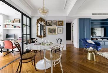 115㎡法式现代风三居室