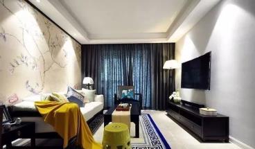 101㎡优雅中式三居室
