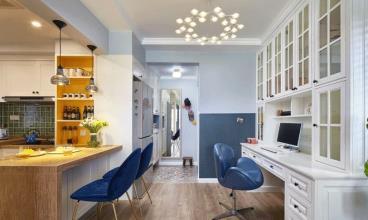 70㎡北欧风格两居室