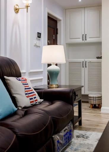 91㎡温馨现代美式两居室