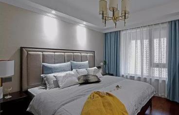113㎡现代美式风格四居室
