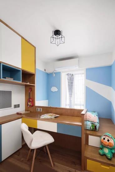 110㎡现代北欧风格四居室