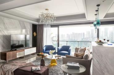156㎡现代风格三居室