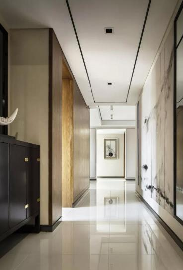 126㎡新中式风格三居室
