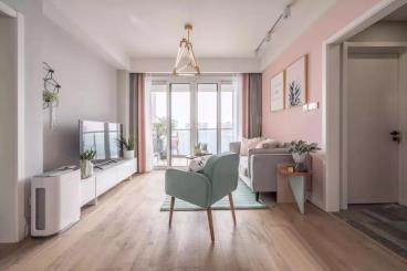 89㎡北欧风格两居室