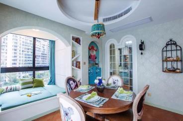88㎡现代美式两居室