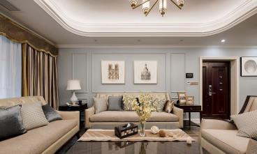 110㎡现代美式三居室