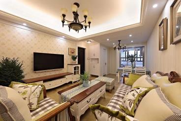 89㎡美式风格三居室