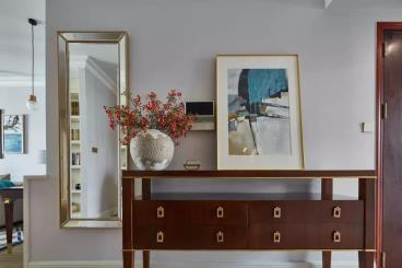 143㎡现代美式三居室