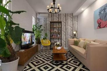 54㎡现代简约小公寓