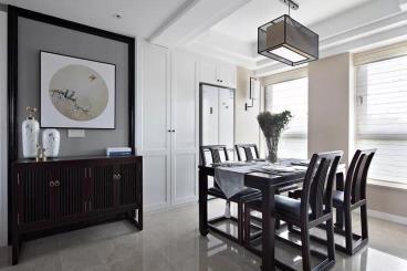 89㎡新中式风格两居室