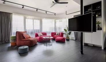 83㎡现代风格两居室