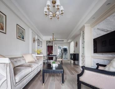 80㎡优雅浪漫美式轻奢风两居室