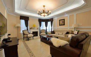 125㎡美式风格三居室