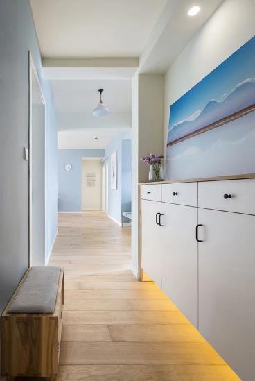122㎡北欧风格三居室