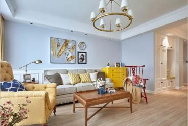 146㎡美式风格复式五居室