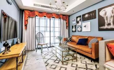 96㎡美式风格三居室