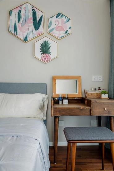140㎡清新北欧风三居室