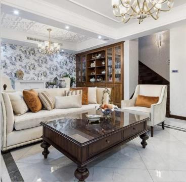 189㎡  美式风格两居室