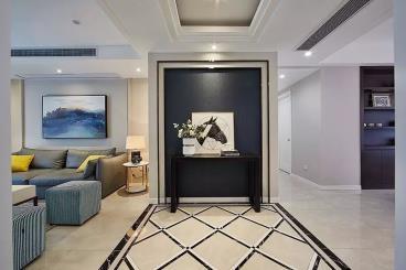 139㎡现代港式风三居室